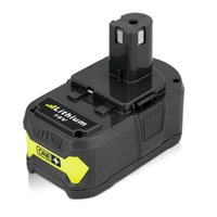 Wholesale Ryobi Lithium 18v - Full new Ryobi 18V 4000mAh P108 RB18L40 Lithium Ion replacement Power Tools Battery Rechargeable Battery Pack for Ryobi ONE+