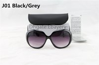 Wholesale Mix Order Sunglasses - 50pcs By DHL Ship Fashion Ladies Sunglasses Women Beach Sunglass Black Feminine Sun Glasses UV400 Protection 6 Colors select Can Mix Order