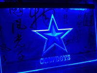 LD039b- Dallas Cowboys NR Super Bowl LED Neon Light Sign