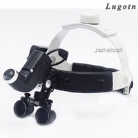 Wholesale lamp dental - 2.5X magnification strong lamp high brightness headlamp dental operation magnifier with headlight surgical led light