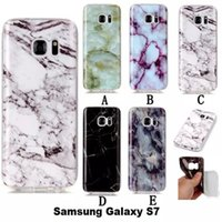 Wholesale Soft S4 Case - Marble Rock Stone Grain Soft TPU IMD Case For Samsung Gaxaly S3 S4 S5 S6 S7 edge G530 J3 J5 J7