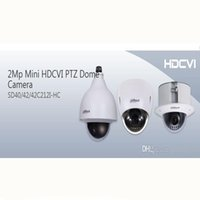 DAHUA IP66 (наружная), IK10, OSD 2Mp Mini HDCVI PTZ купольная камера 1080P HDCVI 12X PTZ-камера DAHUA SD40212I-HC