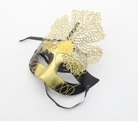 Wholesale Green Masking Paper - Christmas plating luminous beauty mask masquerade party bar birthday party princess mask wholesale