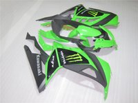 Wholesale Zx 14 Fairing Set - New Bodywork Fairing Kits For KAWASAKI ninja300 13 14 15 EX 300 ZX-300R ZX 300R EX300 2013 2014 2015 Injection ABS Fairings set green black