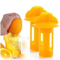juicer manual suco de laranja venda por atacado-Mini manual mão espremedor de citrinos laranja espremedor de frutas de limão espremedor de frutas