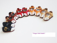 Wholesale Little Girls Fashion Belts - [RMG142] Free Shipping Blythe Doll Shoes #Little Fox shoes with belt for Azone Momoko doll shoes for retail