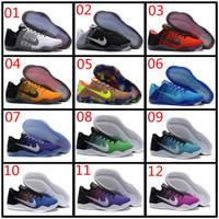 Wholesale Cheap White Canvas Flats - Kobe XI Elite Low Basketball Shoes run shoes Men 100% Original New Arrival Sneakers Cheap Retro Weaving Kobe 11 Sport Shoes Size Eur 40-46