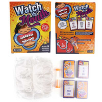 "Wholesale Trade Store - Watch Ya Mouth The ridiculous ""Guess What I am saying"" Party Game with 200 CardS 10 mouth openers sell by Flyream store"