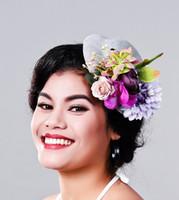 9714b41880a10 Women Fancy Feather grey Fascinator Headwear Wedding Hats and Fascinators  White Net Hair Accessories for Bridal Woman MD16020