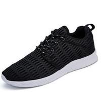 Wholesale Silver Open Toe - 2017 new style Breathable mesh shoes ms men's casual shoes la0-la23
