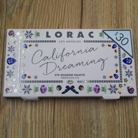 NOVITÀ Hot Makeup LORAC California Dreaming Eye Shadow Palette 12 colori Eyeshadaw LOS ANGELES dhl
