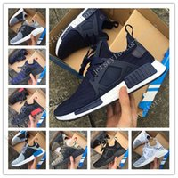 Wholesale Discount Leather Shoes For Women - Discount Cheap New Original NMD XR1 Fall Olive green Sneakers Women Sneakers Men Youth Running Shoes For men sports shoe Size 36-45 US 5-11