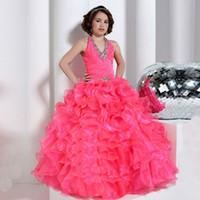 Diamond White Flower Girl Dresses Online Wholesale Distributors ...