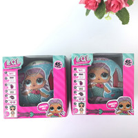 Wholesale Baby Year Toys - Girls Dolls LOL Surprise Lil Sisters Series 2 Lets Be Friends Action Figures Toys Baby Doll Kids Gifts With Retail Box 3003206