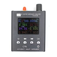 Wholesale uv tester - For English verison N1201SA 140MHz-2.7GHz UV RF Vector Impedance ANT SWR Antenna Analyzer Meter Tester 140MHz - 2.7G