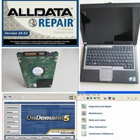 Wholesale Bmw C4 - 2017 alldata and mitchell software V10.53 alldata repair software+ 2017.07v mb sd c4 software in 2GB D630 Laptop