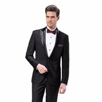 Wholesale Tailor Dress Groom - Wholesale- (Only Accept Custom Tailor Service) DAROuomo Latest Coat Pant Designs Tuxedos Suits for Men Dress Wedding Groom Prom Suits DR158