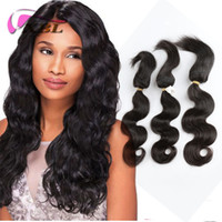 XBL Malaysian 100 Hair Hair Bundles Braed Curseur dans les lots Extensions des cheveux humains Body Wave, Straight Hair Weave