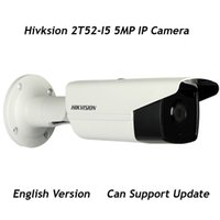 Wholesale Axis Ip Cameras - Hikvision DS-2CD2T52-I5 5MP CCTV IP Camera Outdoor EXIR Bullet 3-axis adjustment