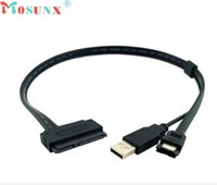 Venta al por mayor de alta calidad de disco duro de disco duro de venta SATA 22Pin a eSATA Data USB Cable Cable Adaptador JUL 12