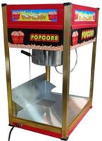 ingrosso scaldabagno elettrico-Macchina per la produzione di popcorn per uso professionale Macchina per la produzione di granoturco a scodella elettrica per mais a piatto, macchina per popcorn con vaschetta antiaderente