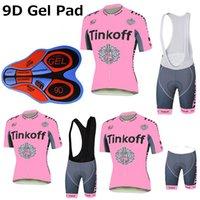 jersey verde de merida al por mayor-Pink Cycling Jerseys Summer Style para mujer MTB Ropa Ciclismo XS-3XL Bike Wear con 9D Gel Pad Shorts Cycling Jersey Set