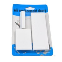 Wholesale Nintendo Shell - New 3 in 1 replacement door slot cover flap set for Nintendo Wii console repair parts