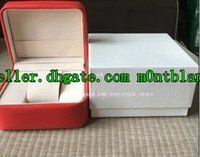 Wholesale Square Red Box Watch Papers - LUXURY Brand New FOR WATCHES ORIGINAL BOX, BOOKLET CARD TAGS AND PAPERS