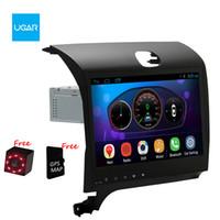 Wholesale K3 Cerato - 10.2 inch Quad Core 1024*600 Android Car GPS Navigation for KIA K3 Cerato Forte 2013-2016 Multimedia Player Radio Wifi