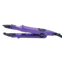 ferramentas de extensão de ligação venda por atacado-cor roxa PLACA de Fusão Fusão Extensão Queratina Ferramenta de Ligação ferro extensão do cabelo