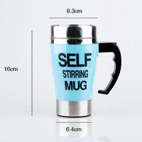 Wholesale Lazy Cup - 500Ml Mug Automatic Electric Lazy Self Stirring Mug Automatic Coffee Cup Milk Mixing Self Stirring Coffee Cup Stainless Steel