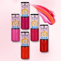 Wholesale Mouth South Korea - South Korea not rub off labial glair wet moist lip gloss durable filling liquid mouth nude lips honey