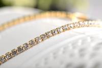 Wholesale Wholesale Simulated Diamond Jewelry - Simple Style Crystal Bracelet Inlaid CZ Simulated Diamond Bracelet Wholesale Bling Chain Bracelet Tennis Jewelry 2060021310