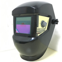 Wholesale Auto Darkening Electric Welding Mask - Wholesale- Welding helmet Welder mask Weld cap hat Auto darkening Automatic solar Li battery electric machine MMA TIG MIG goggle plasma
