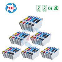 Wholesale Wholesale Epson - 30 PCS Ink Cartridges T1811 T1812 T1813 T1814 Compatible For Epson XP-215 XP-415 XP-212 XP-312 XP-315 XP-322 XP-325 XP-402 XP-405 Printer