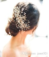 Wholesale head comb jewelry - Pretty Wedding Bridal Hair Accessories Rhinestone Crystal Womens Party Head Pieces Bridal Hair Comb Events Hair Decoration Accessories