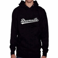 Wholesale Dreamville Hoodie - Wholesale- 2016 New Arrival Dreamville Records Hoodies Sudaderas Hombre Men's Hooded Sweatshirt Black White Cotton Tracksuit Brand Clothing