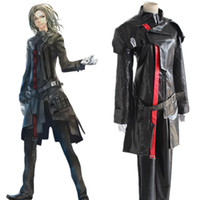 Wholesale Guilty Crown Anime - Tsutsugami Gai cosplay costumes red uniforms Japanese anime Guilty Crown clothing Masquerade Mardi Gras Carnival costumes supply from s