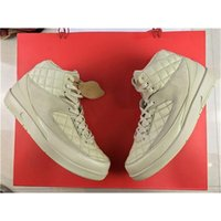Wholesale Just Boots Men - Just Don X C Air Retro 2 Beach 2S 834825-250 40-46 Men Basketball Shoes Running Shoes With Original Box Red Hat 2017 Newest