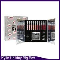Lo nuevo de Kylie Cosmetics Holiday Collection Big Box PREORDER INTERNATIONAL Holiday Collection caja grande envío gratis 660064