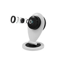 Wholesale Protection Monitoring - Wholesale-Mini Wifi IP Camera Wireless 720P HD Smart Camera P2P Monitor Security Camera Home Protection Mobile Remote With Night Vision