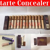 Wholesale Free Color Samples - Sample sales!! Tarte Shape Tape Concealer Tarte contour 12 colors 10ml tarte Concealer Best and Good Quality Style free shipping