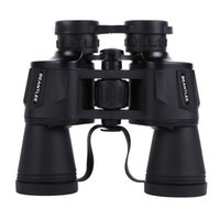 Wholesale night vision eyepiece - 10x50 binoculars High resolution high magnification low light night vision Big eyepiece telescope