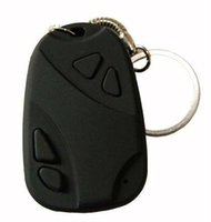 1 UNID Mini Spy Spy Key Camera Hidden Keychain Video Camera 808 Hidden Security Pinhole Camcorder Micro Camera No Retail Box