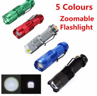Mini-Taschenlampe ZOOMABLE 7W CREE Q5 2000lm ZOOM Tactical AA 14500 Akku Taschenlampe Lampe