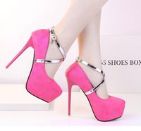 Sexy Cross Strappy High Platform Heels Women Prom Gown Dress Shoes Размер 35 до 40