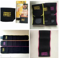 Wholesale Natural Exercises - 2017 Sweet Sweat Premium Waist Trimmer Men Women Belt Slimmer Exercise Ab Waist Wrap 3 color With retail box C699