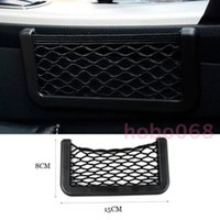 Wholesale Mobile Phone Housing Accessories - 10x Car Interior Accessory Organizer Stowing Automobile Storage Vehicle Network Mobile Phone Collection Bag Housing diy