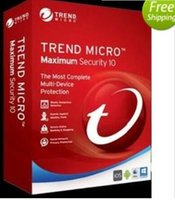 Wholesale Trend Micro Years - 2018 Trend Micro internet Titanium Maxmium Security 12 365days 1 year 3 users protection send online can register