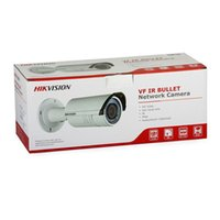 Wholesale Micro Sd Ds - hikvision ip camera 4MP WDR DS-2CD2642FWD-I IR 30m Bullet 2.8-12mm vari-focus With POE 3DNR WDR Built-in Micro SD IP66 Free Shipping